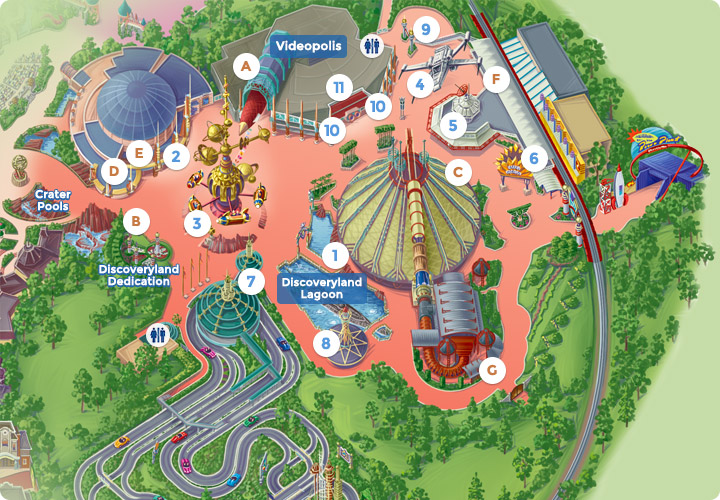 magic kingdom map 2011. disney magic kingdom map 2011.