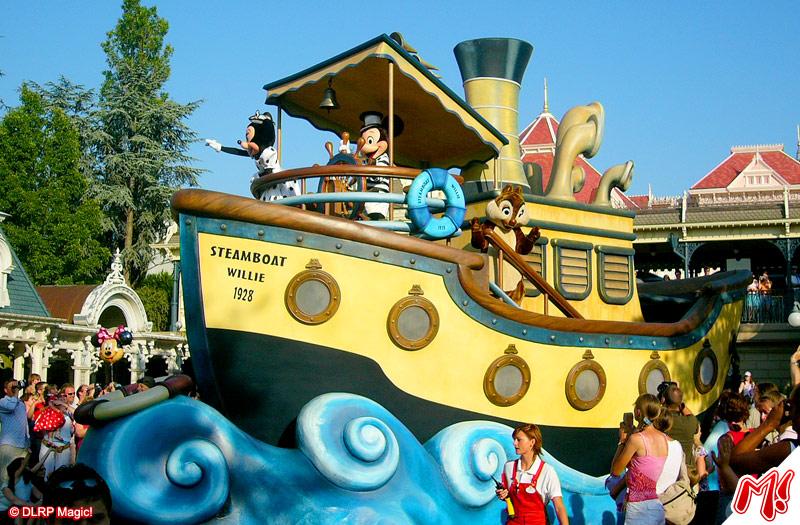 Parade & Floats - The Wonderful World Of Disney Parade   DLP