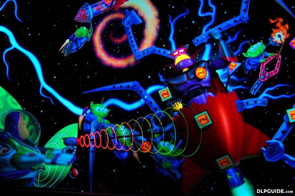 Buzz Lightyear Laser Blast Dlp Guide Disneyland Paris