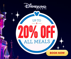 Ad: Disneyland Paris up to 20% off all meals!