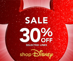 Ad: ShopDisney Sale now on!