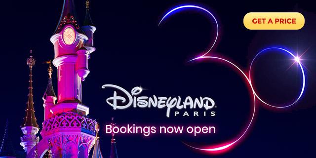 Ad: Disneyland Paris 30th Anniversary bookings now open!