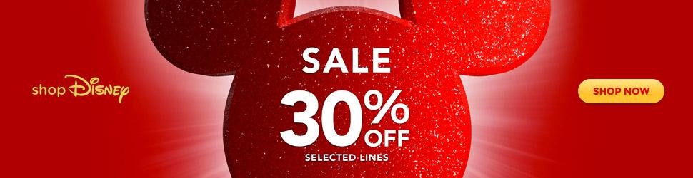 Ad: ShopDisney sale now on!