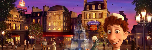 Ratatouille: The Ride Disneyland Paris