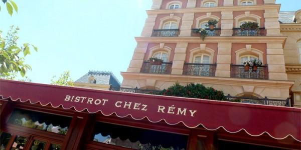 Disneyland Paris Restaurant Menus - Bistrot Chez Rémy