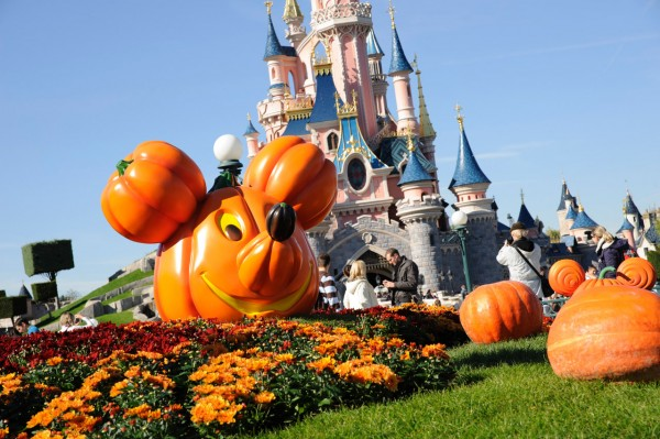 Halloween at Disneyland Paris, October 2014