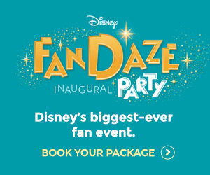 Disneyland Paris FanDaze Inaugural Party