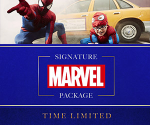 Disneyland Paris Signature Marvel Package