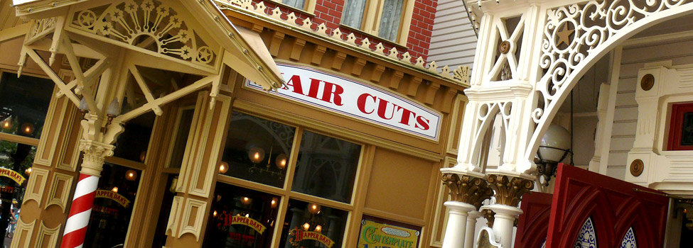 Dapper Dan S Hair Cuts Dlp Guide Disneyland Paris