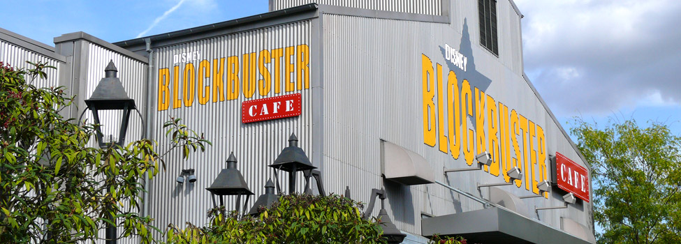 Disney Blockbuster Café