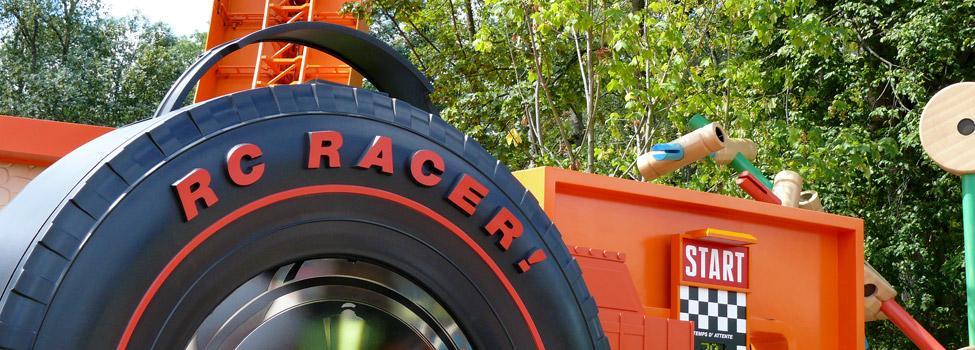 Rc Racer In Toy Story Playland Dlp Guide Disneyland Paris Guidebook