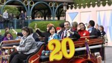 12th April 2012: Global Disney Ambassadors Pre-Parade