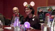 Disney Light'Ears Preview with Marianne Sharpe, David Sultan