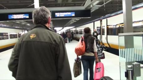 Disneyland Paris by Eurostar train