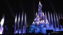 Sleeping Beauty Castle Christmas Illumination