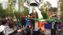 Toy Story Playland Grand Opening Ceremony