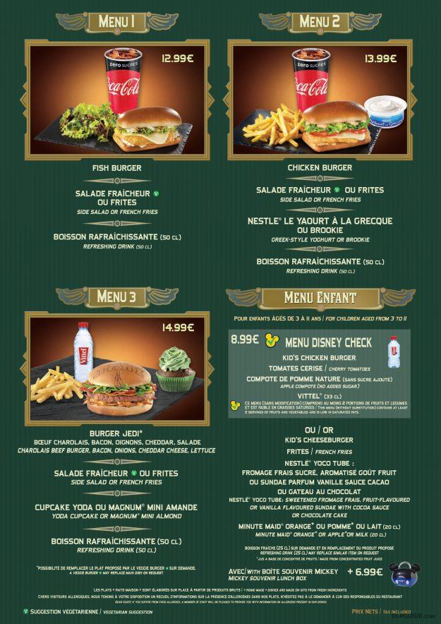 Café Hyperion menu