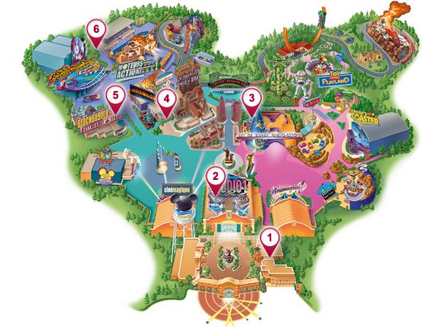 Disneyland Usa Map.Toilets Dlp Guide Disneyland Paris Trip Planning